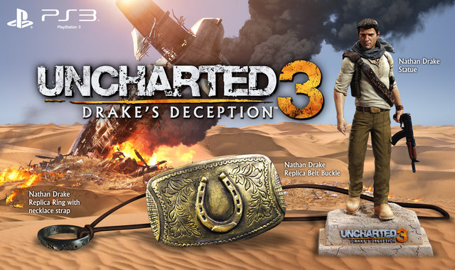 Uncharted 3 Ps3 Playstation 3 Collector S Edition And