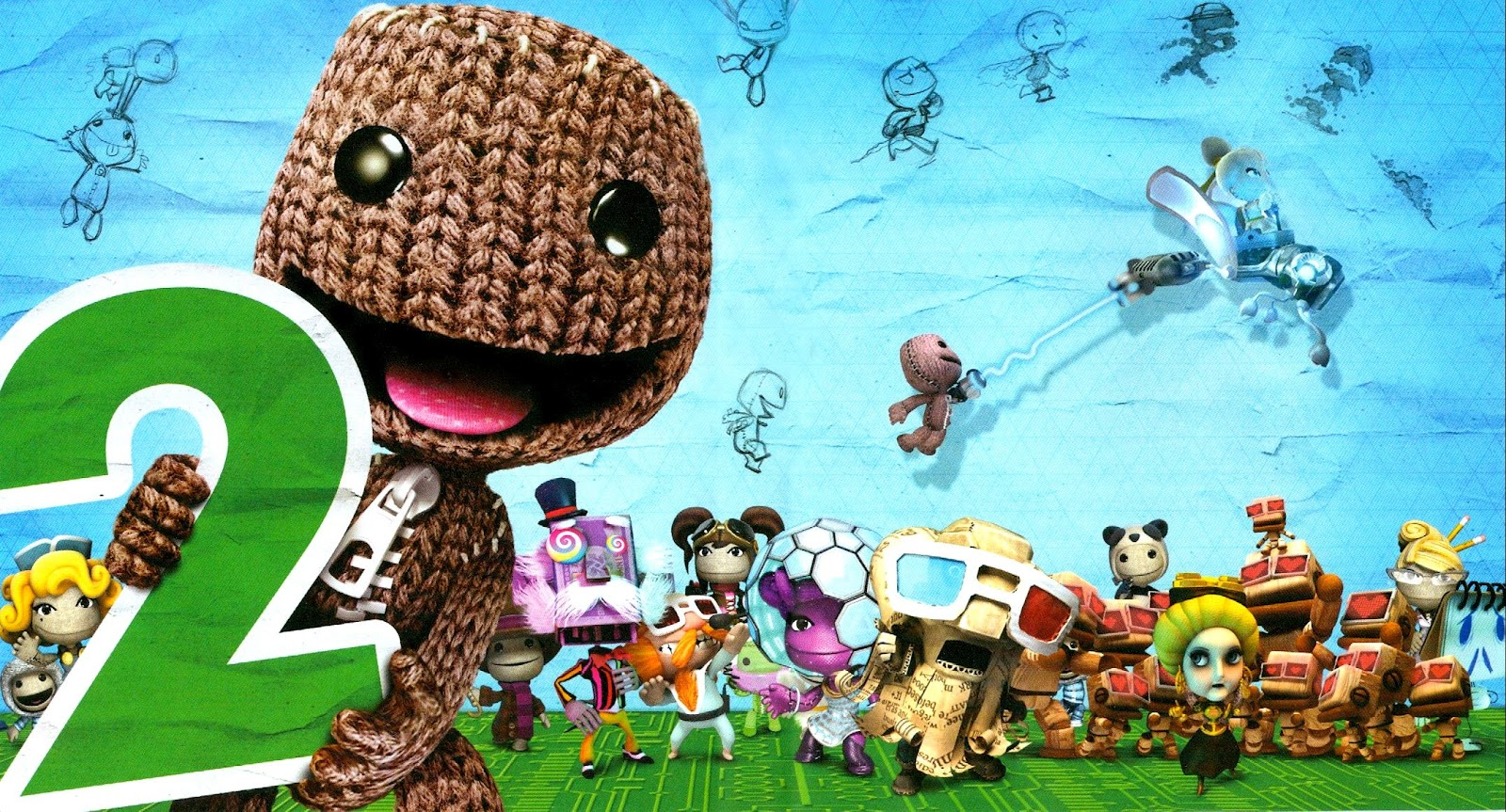 Little Big Planet Wallpaper: LittleBigPlanet 2